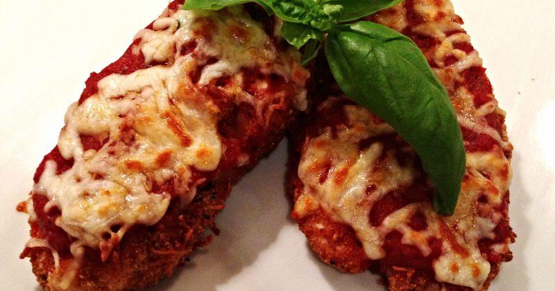 Crispy Chicken Parmesan Nutrition Twins